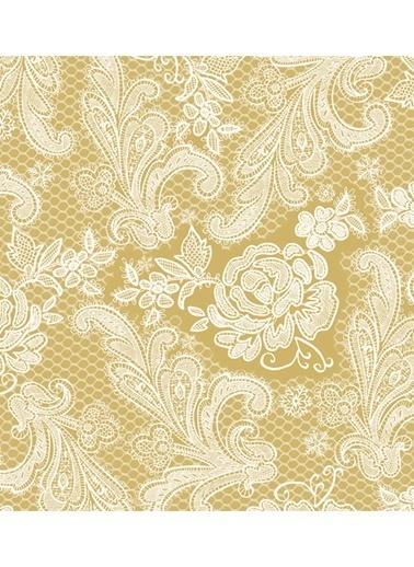 Gold White Peçete-Dünya Style